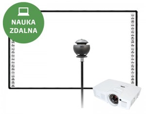 Tablica interaktywna BLACK 90 FULL HD + kamera Lenovo VoIP 360